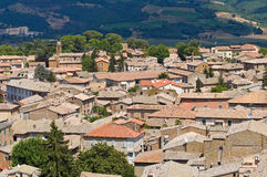 Panoramic view of Orvieto. Umbria. Italy. Stock Photography