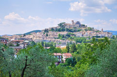 Panoramic view of Orvieto. Umbria. Italy. Royalty Free Stock Photos
