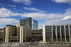 Panoramic view of Oslo city Stock Image