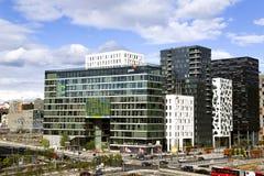 Panoramic view of Oslo city Stock Photo