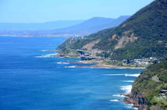 Panoramic view from Otford Lookout Stock Images