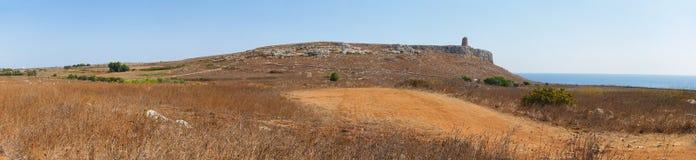 Panoramic view of Otranto coast Stock Photography