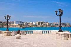 Panoramic view of Otranto. Puglia. Italy. Royalty Free Stock Image