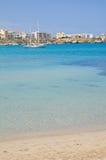 Panoramic view of Otranto. Puglia. Italy. Royalty Free Stock Photo