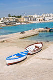 Panoramic view of Otranto. Puglia. Italy. Royalty Free Stock Images