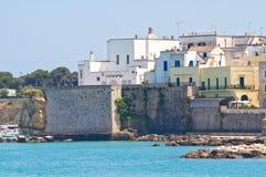 Panoramic view of Otranto. Puglia. Italy. Stock Photo