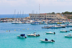 Panoramic view of Otranto. Puglia. Italy. Stock Photos