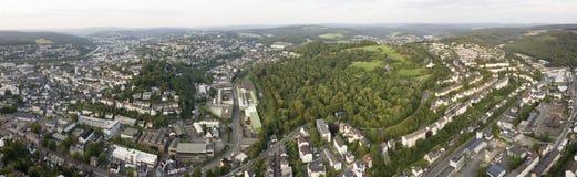 Panorama of Siegen, Germany Royalty Free Stock Photo