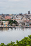 Panoramic view over Cuba capital Havana. Royalty Free Stock Image