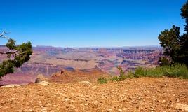 Panoramic view over the grand canyon. Arizona, USA royalty free stock photography