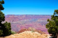 Panoramic view over the grand canyon. Arizona, USA royalty free stock photos
