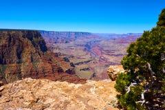 Panoramic view over the grand canyon. Arizona, USA stock image