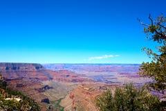 Panoramic view over the grand canyon. Arizona, USA stock photography