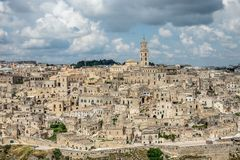 View over Mantera, Italy Royalty Free Stock Image