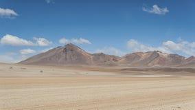 Panoramic view over the Salvador Dali Desert in Eduardo Avaroa Andean Fauna National Reserve, Bolivia. – South America Stock Images