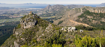 A panoramic view over the southern suburbs Royalty Free Stock Images