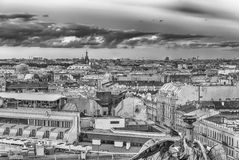 Panoramic view over St. Petersburg, Russia, from St. Isaac's Cat Royalty Free Stock Photography