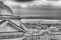 Panoramic view over St. Petersburg, Russia, from St. Isaac's Cat Stock Photo