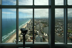 Panoramic view over Surfers Paradise Royalty Free Stock Images