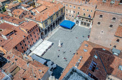 Panoramic View Over Verona, Italy Royalty Free Stock Image