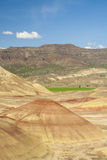 Panoramic view of Painted Hills, Oregon Royalty Free Stock Photos