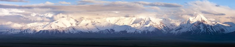 Panoramic view of Pamir mountain. Zaalay valley - Kyrgyzstan - central asia Royalty Free Stock Photos