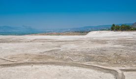 Panoramic view of Pammukale Royalty Free Stock Photography