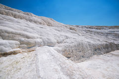 Panoramic view of Pammukale Royalty Free Stock Images