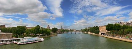 Panoramic view on Paris. Royalty Free Stock Photos