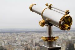 Panoramic view on paris Royalty Free Stock Photos