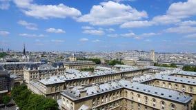 Panoramic view of Paris Royalty Free Stock Images