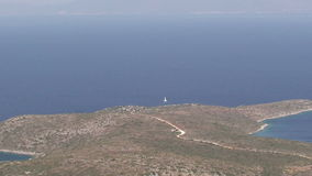 Panoramic view of a Peninsula stock video footage