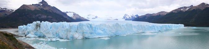 Panoramic view of Perito Moreno Glacier Royalty Free Stock Photo