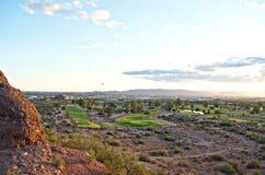 Panoramic view of Phoenix, AZ stock photos