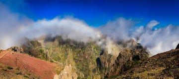 Panoramic view from Pico do Arieiro Stock Photo