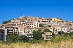 Panoramic view of Pietragalla. Basilicata. Italy. Royalty Free Stock Photos