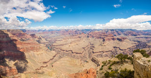 Panoramic view from Pima point Stock Photography
