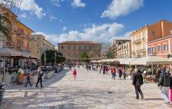 Plateia Syntagmatos (Constitution Square), Nafplio, Greece Royalty Free Stock Photography