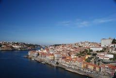 Panoramic view of Porto Stock Photos