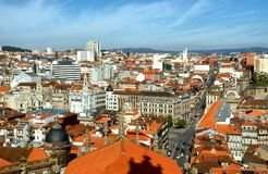 Panoramic view of Porto Royalty Free Stock Images