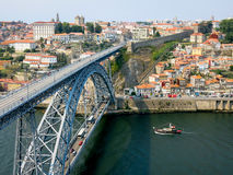 Panoramic view of Porto, Portugal Stock Photos