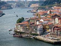 Panoramic view of Porto, Portugal Stock Image
