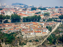 Panoramic view of Porto, Portugal royalty free stock image