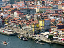 Panoramic view of Porto, Portugal Royalty Free Stock Photos
