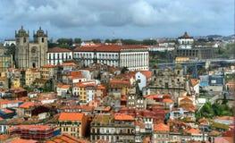 Panoramic view of Porto stock image