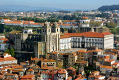 Panoramic view of Porto Stock Photo