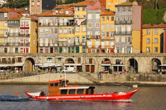 Panoramic view. Porto. Portugal stock images