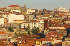 Panoramic view. Porto. Portugal Stock Photography