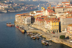 Panoramic view. Porto. Portugal royalty free stock photo