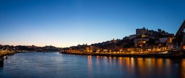 Panoramic view of Oporto royalty free stock photos